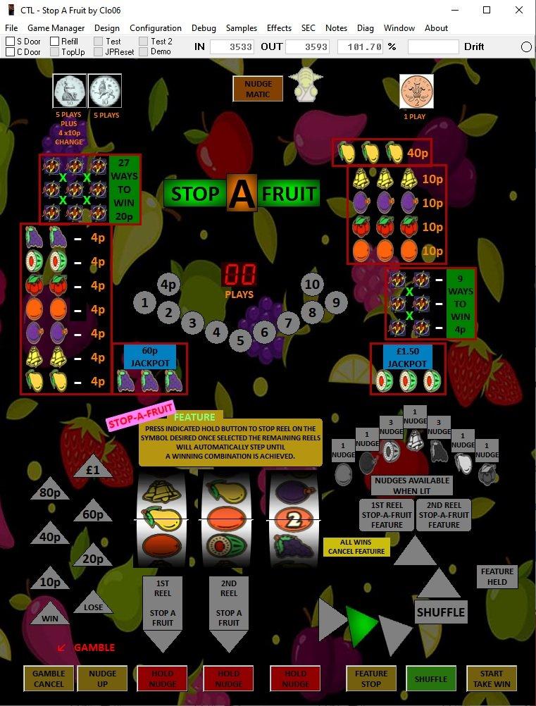 CTL - Stop A Fruit